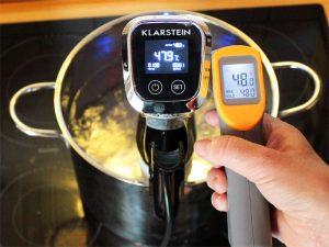 Quickstick Temperaturmessung